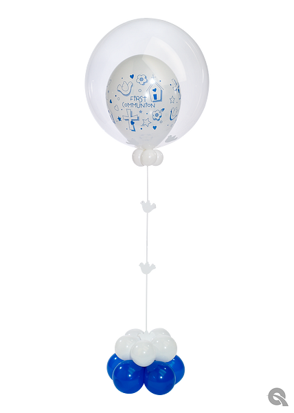 First Communion Blue Deco.png